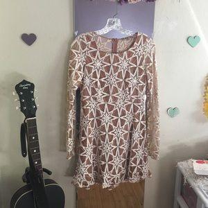 For Love and Lemons Metz Star Dress
